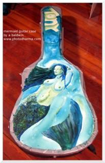 mermaid guitar case, view 2