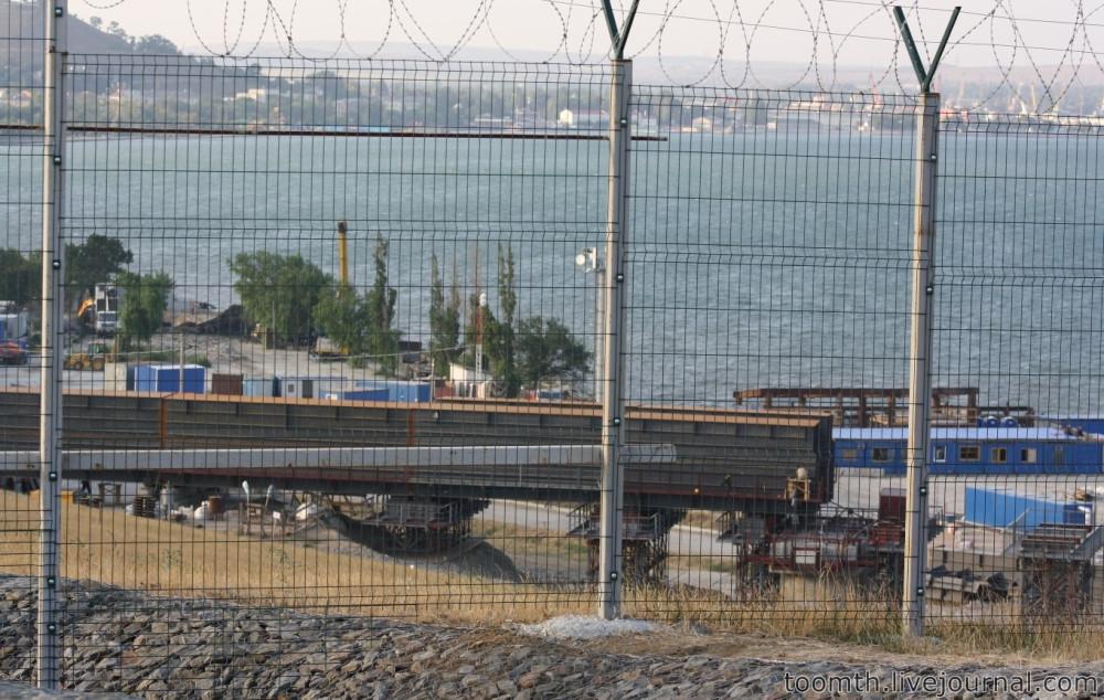 Строительство Керченского моста. Часть 5. 25.08.2016, Крымская сторона. IMG_1631