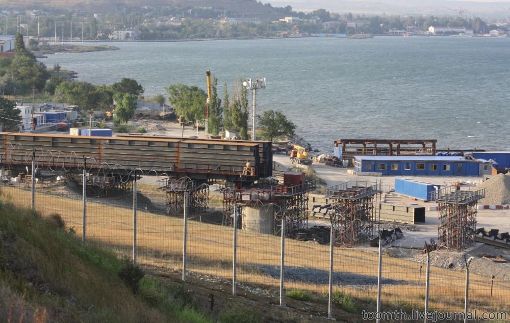 Строительство Керченского моста. Часть 5. 25.08.2016, Крымская сторона. IMG_1645