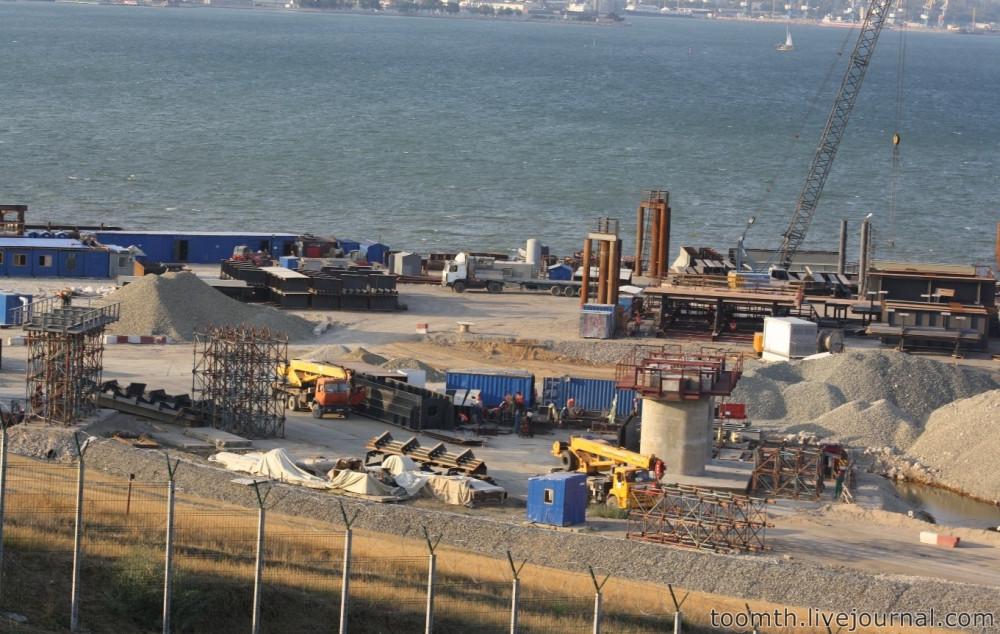 Строительство Керченского моста. Часть 5. 25.08.2016, Крымская сторона. IMG_1648