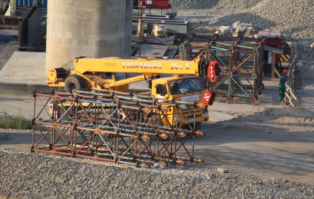 Строительство Керченского моста. Часть 5. 25.08.2016, Крымская сторона. IMG_1649