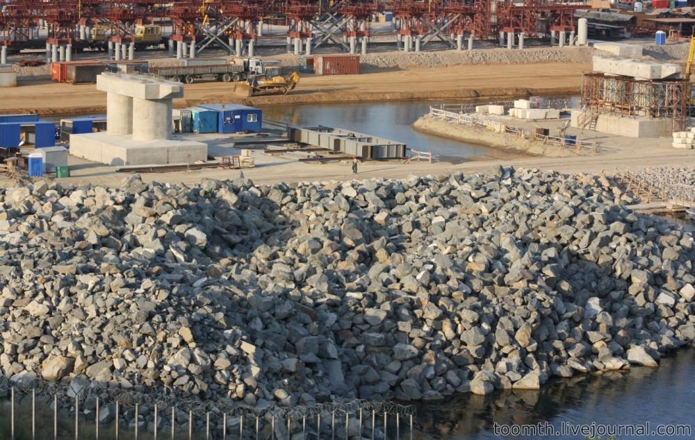 Строительство Керченского моста. Часть 5. 25.08.2016, Крымская сторона. IMG_1656