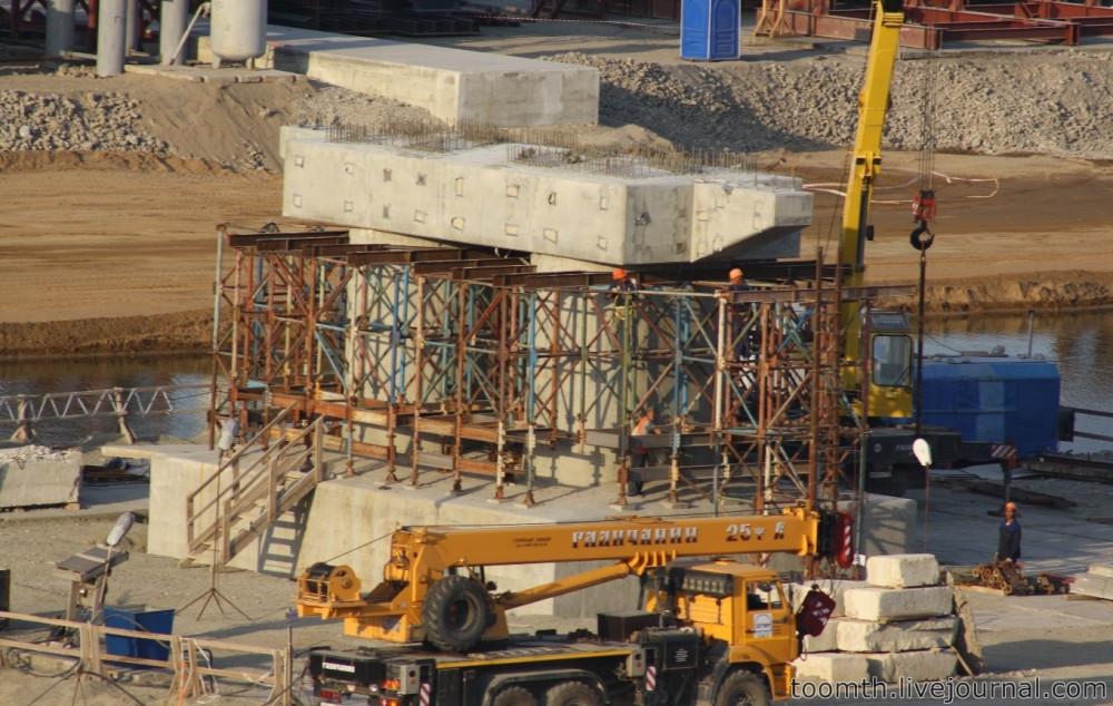 Строительство Керченского моста. Часть 5. 25.08.2016, Крымская сторона. IMG_1672