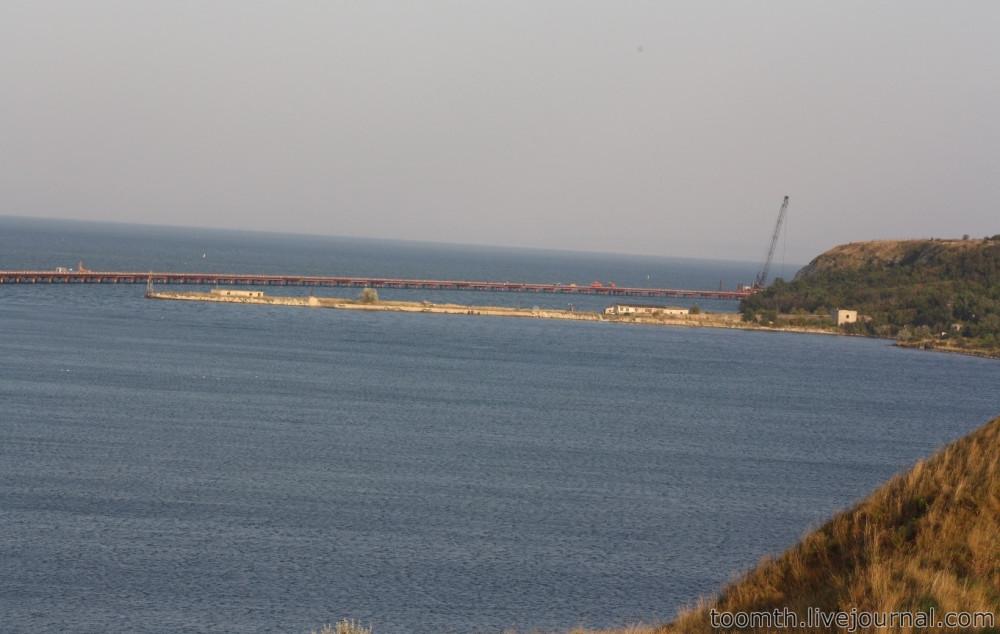 Строительство Керченского моста. Часть 5. 25.08.2016, Крымская сторона. IMG_1680