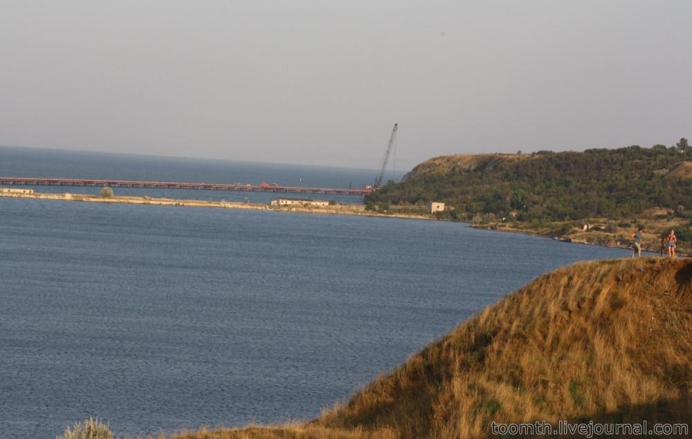 Строительство Керченского моста. Часть 5. 25.08.2016, Крымская сторона. IMG_1681