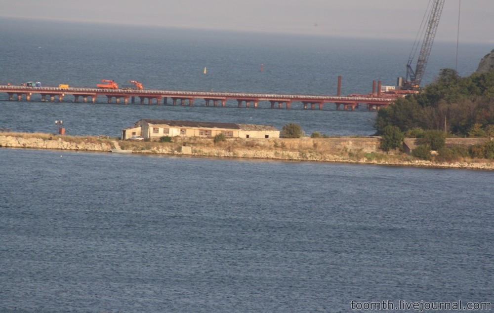 Строительство Керченского моста. Часть 5. 25.08.2016, Крымская сторона. IMG_1682