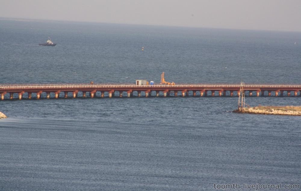 Строительство Керченского моста. Часть 5. 25.08.2016, Крымская сторона. IMG_1685