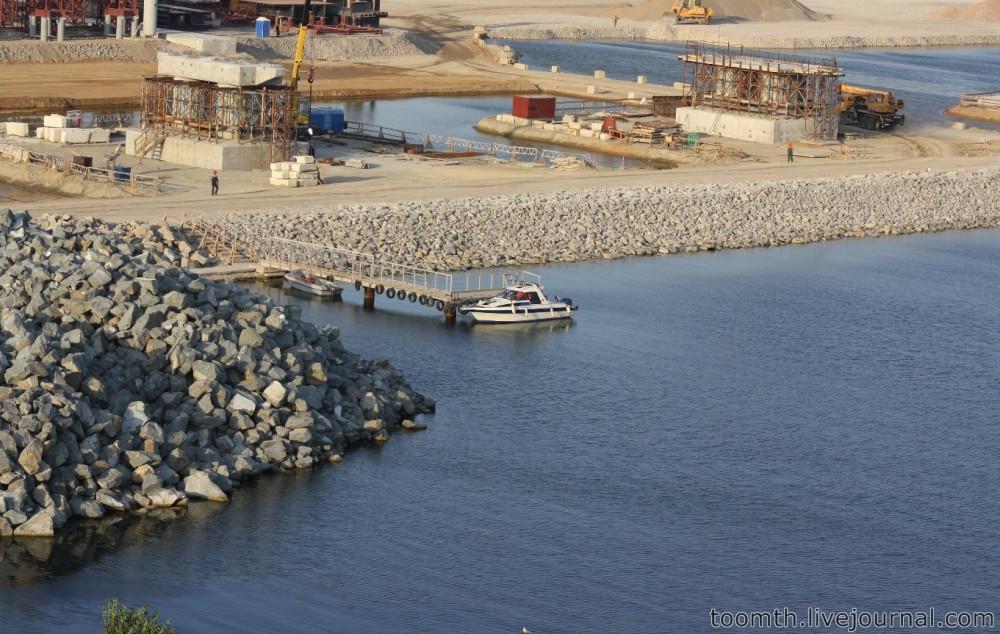 Строительство Керченского моста. Часть 5. 25.08.2016, Крымская сторона. IMG_1687