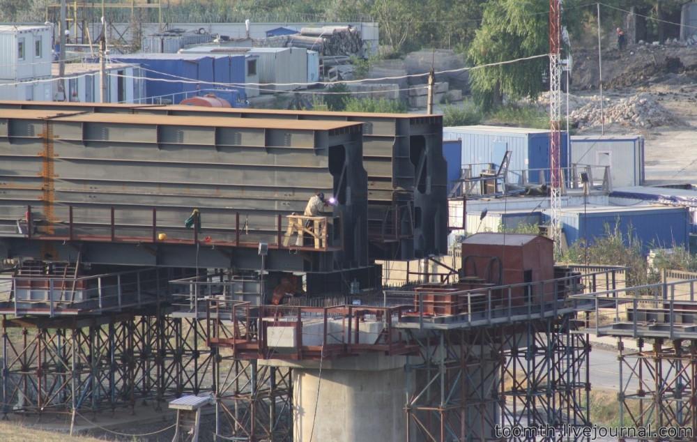 Строительство Керченского моста. Часть 5. 25.08.2016, Крымская сторона. IMG_1707