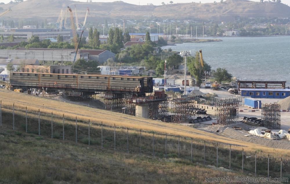 Строительство Керченского моста. Часть 5. 25.08.2016, Крымская сторона. IMG_1709