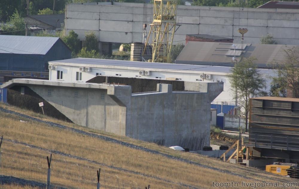 Строительство Керченского моста. Часть 5. 25.08.2016, Крымская сторона. IMG_1726