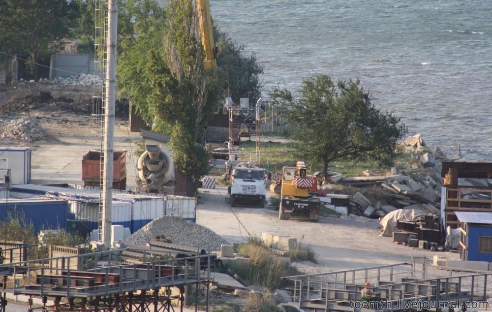 Строительство Керченского моста. Часть 5. 25.08.2016, Крымская сторона. IMG_1734