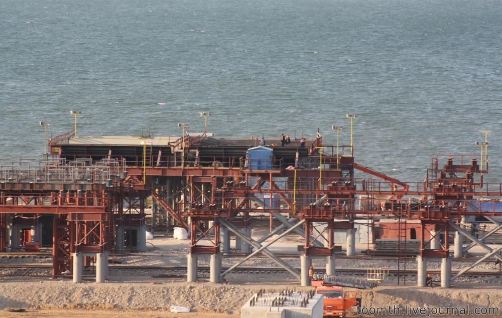 Строительство Керченского моста. Часть 5. 25.08.2016, Крымская сторона. IMG_1748