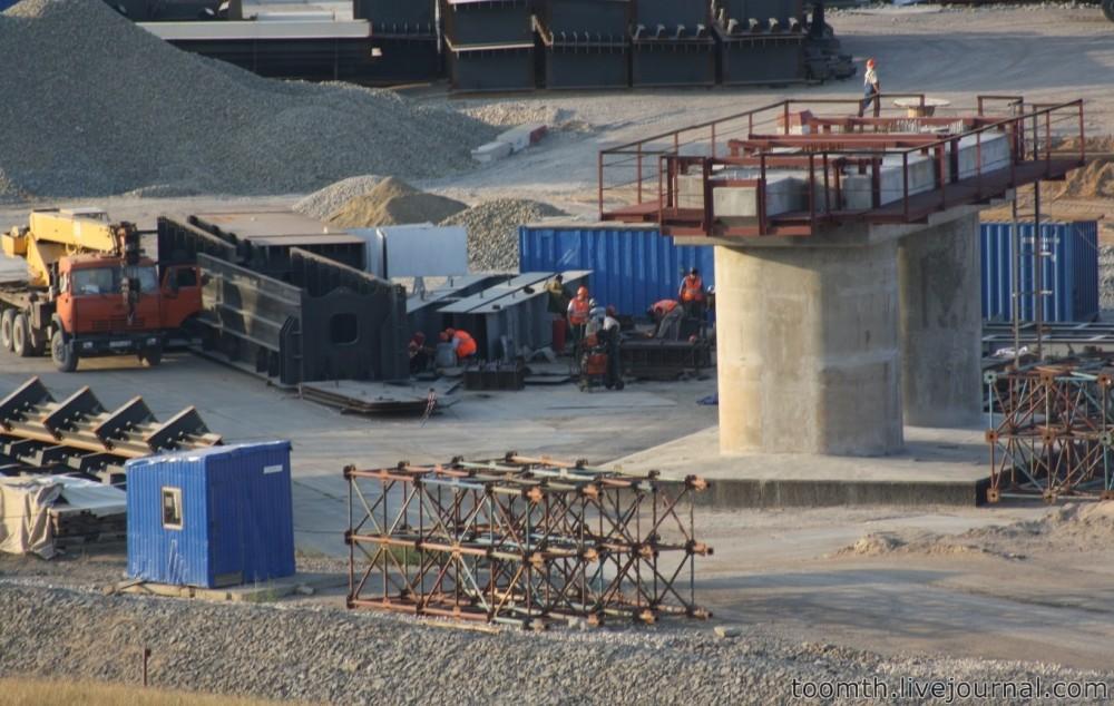 Строительство Керченского моста. Часть 5. 25.08.2016, Крымская сторона. IMG_1757