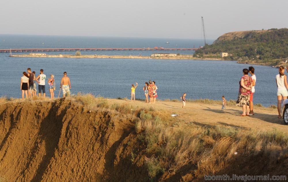 Строительство Керченского моста. Часть 5. 25.08.2016, Крымская сторона. IMG_1758