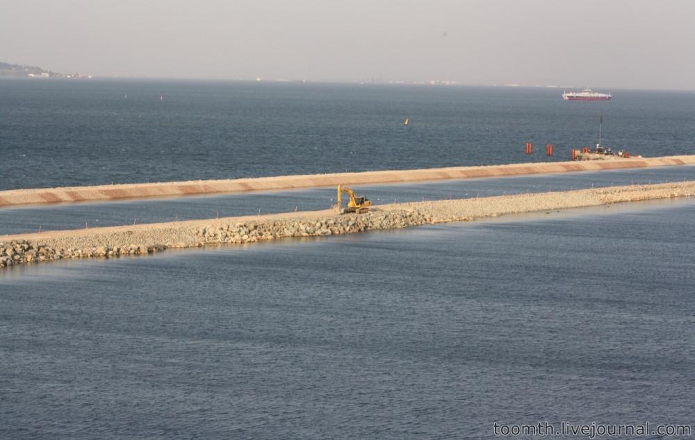 Строительство Керченского моста. Часть 5. 25.08.2016, Крымская сторона. IMG_1780
