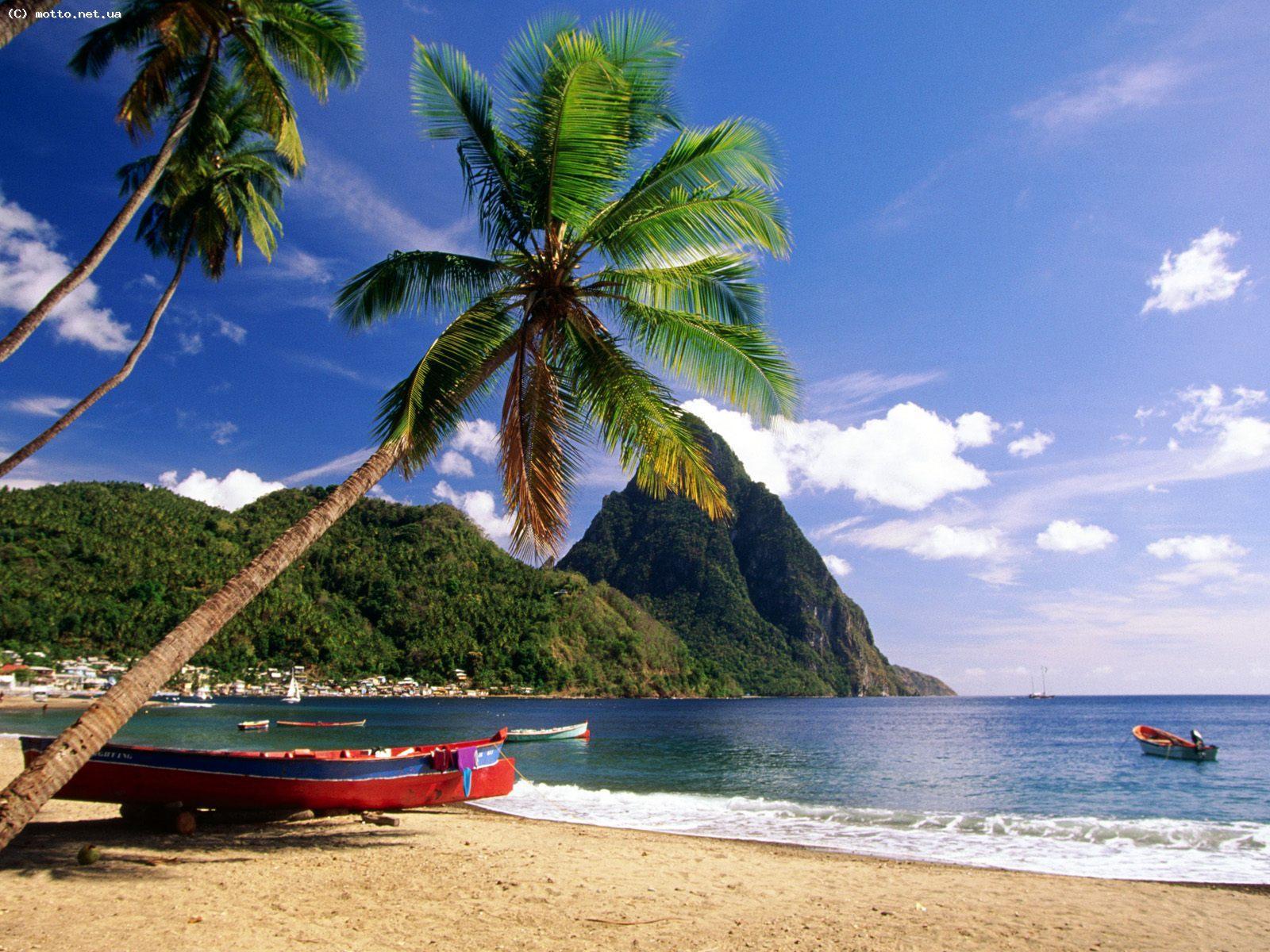 картинки карибский пляж две противоположности словно