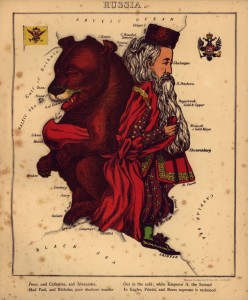 1868 Геокатуры Geographical fun  Россия
