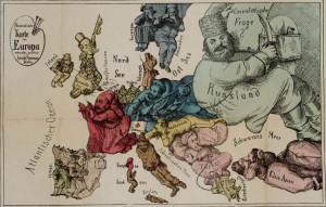 1870-humoristische-karte-europa