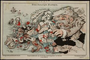 1875 Das heutige Europa