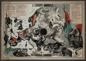 1882 The European Animal Comical Physiology