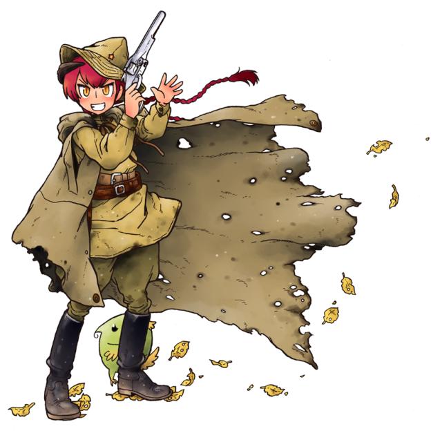 「靴ずれ戦線 魔女ワーシェンカの戦争」
