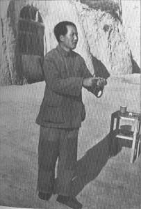 Мао Цзэдун на встрече с кадровыми работниками Яньани в 1942-году