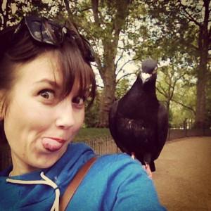 Лондон и голуби