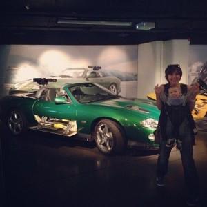 в музее агента 007