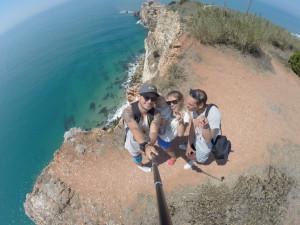 С друзьями в Португалии