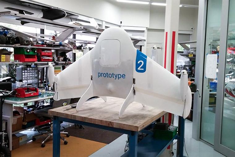 дроны для доставки