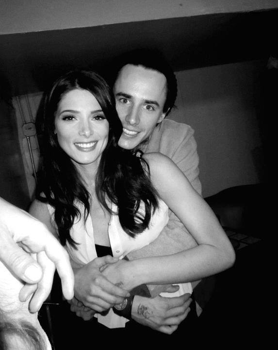 Ashley Greene with boyfriend Reeve Carney - Oh No They Didn't!