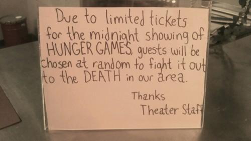 Theatre Notice