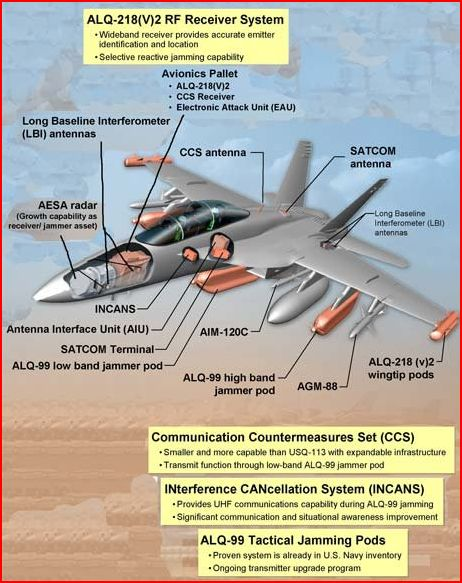 RAAF Decide on EA-18G Growler Conversion Boeing FA-18F Super Hornets Royal Australian Air Forcedd