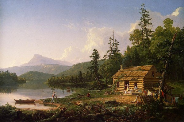 Cole_Thomas_Home_in_the_Woods_1847