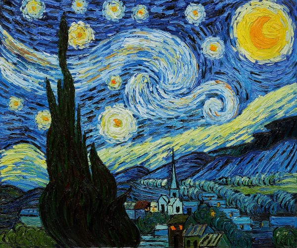 Starry Night by Vincent Van Gogh OSA430
