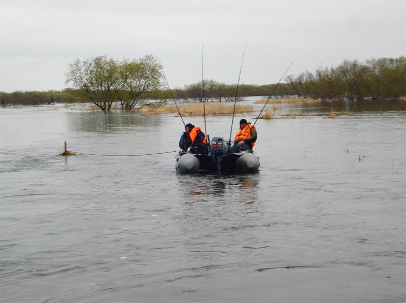 Чавычовая рыбалка