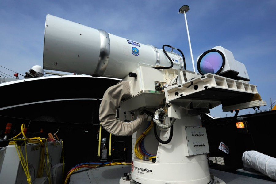 LaWS (Laser Weapon System) 06