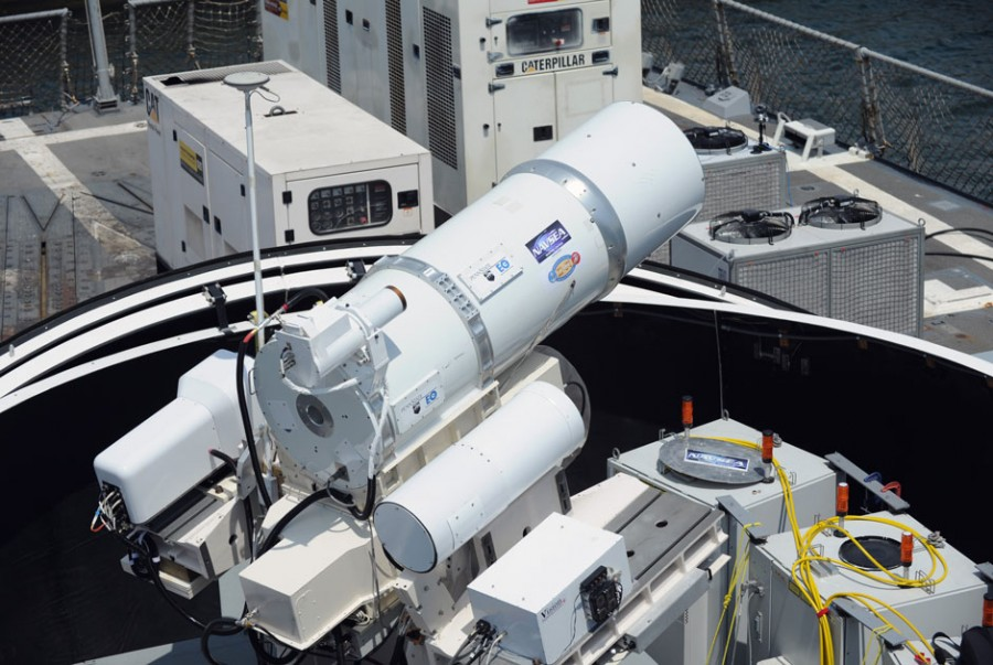 LaWS (Laser Weapon System) 05