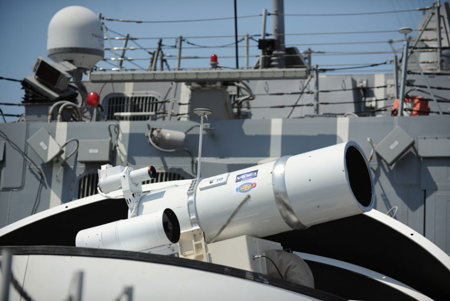LaWS (Laser Weapon System) 08