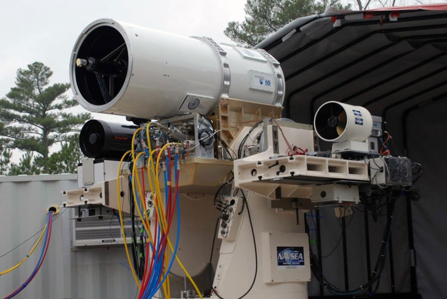 MLD (Maritime Laser Demonstrator) Northrop 01