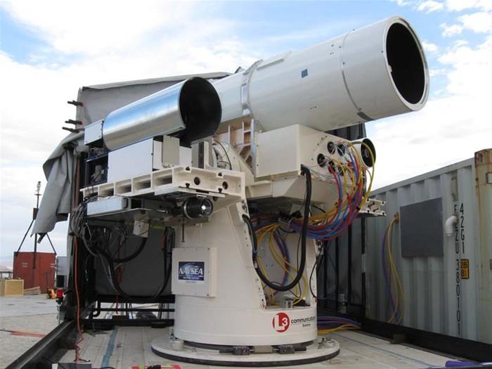 MLD (Maritime Laser Demonstrator) Northrop 04