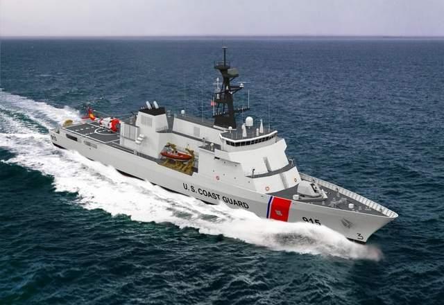 Перспективный патрульный корабль фирмы ESG  01