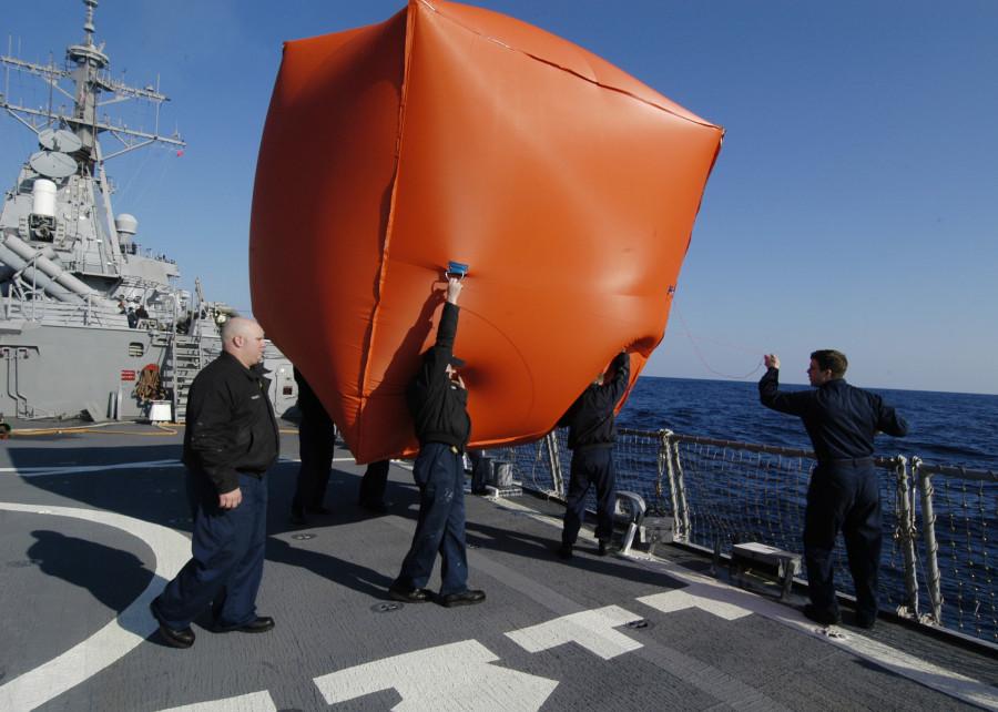 «Помидор-убийца» - артиллерийская мишень ВМС США 01