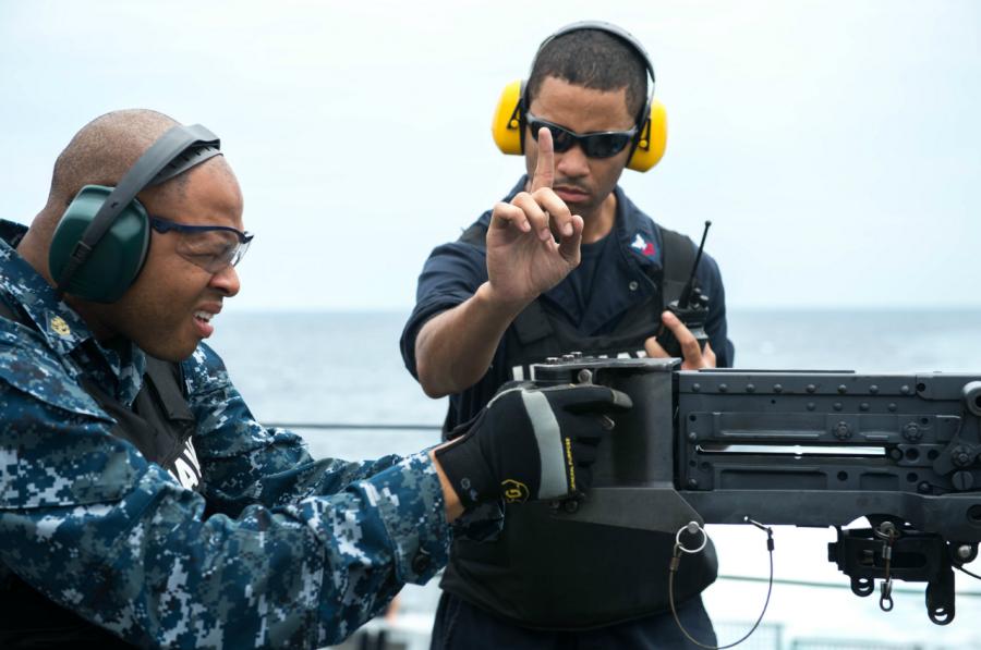 «Помидор-убийца» - артиллерийская мишень ВМС США 09