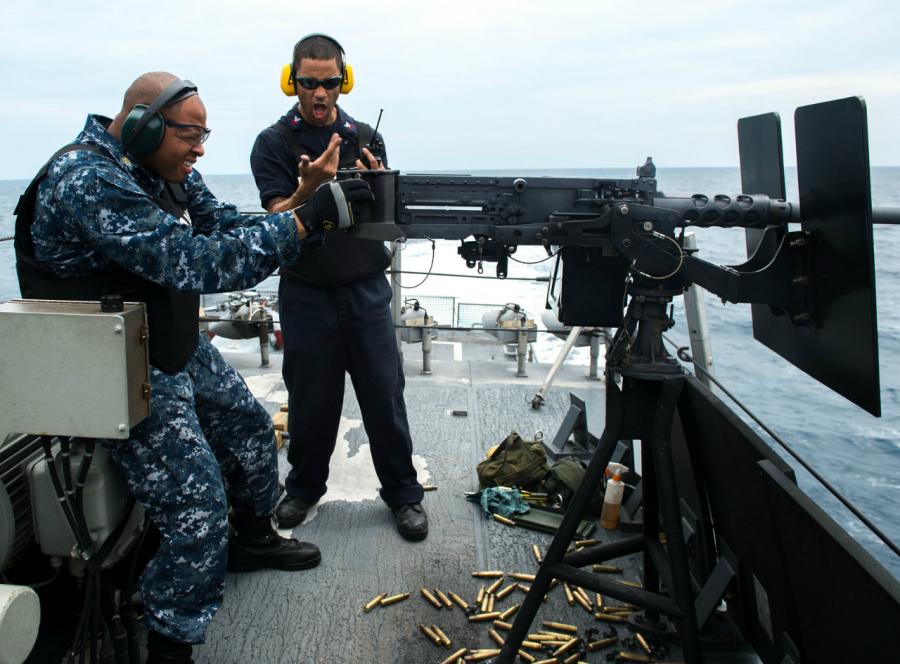 «Помидор-убийца» - артиллерийская мишень ВМС США 11