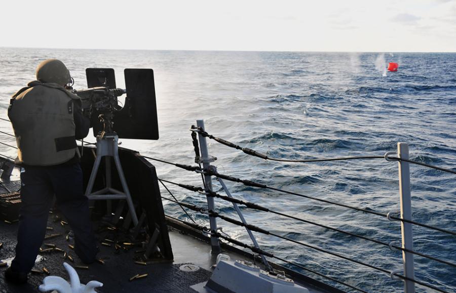 «Помидор-убийца» - артиллерийская мишень ВМС США 07