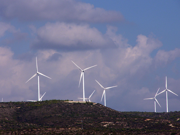 Ветряки на Кипре