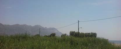 горы и трава