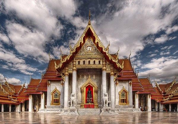 ТайландБангкогМраморный храм